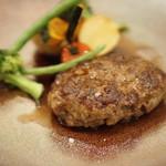 西洋厨房ciel - +800円のハンバーグ