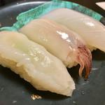 居魚屋 やまと - いか三貫¥280
