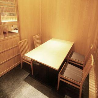 完全個室(3~12名用)テーブル席