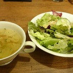 ノーマル - スープ、サラダ
