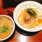 麺処 あじ家 - みぞれつけ麺(小) ¥790