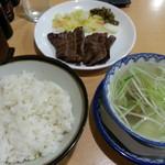 味の牛たん 喜助 - 牛たん炭火焼定食2017.3.30