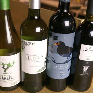 ◎ワインはボトルでご用意◎お好きなワインがきっと見つかります