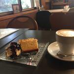 ガーデンカフェ マツムシコーヒー - このケーキ、美味しかったなあ