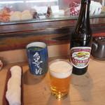 魚て津 - 瓶ビール