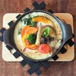 10品目の彩り野菜ドリア