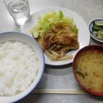 伊勢屋食堂 - 豚スタミナ焼¥800-