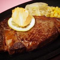 すてーき亭 - プレミアムUSリブロースステーキ