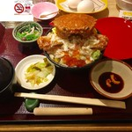 64945878 - 毛蟹丼、3240円です。