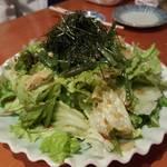 磯べゑ - サラダ。
