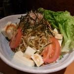 よだきんぼ - 豆腐サラダ