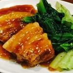 グリルアンドバー ハナヤ - 国産豚の角煮