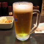 八角 - ドリンク写真:生ビール