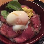 安寿 - ローストビーフ丼