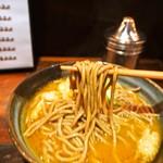 南海そば - カレーそば(麺)