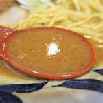 麺場いさの - スープ