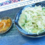 Moon - セットのサラダ