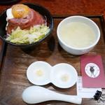 ローストビーフ大野 - ローストビーフ丼定食¥1080