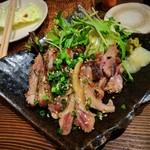炭火焼鳥睦 - 料理写真:たたき