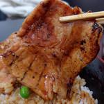 豚丼のぶたはげ - 豚丼(1080円)@池袋・西武池袋本店催事