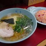 みん亭 - ラーチャン(メン普通盛り)