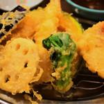 えびのや - 金目鯛と春野菜の定食