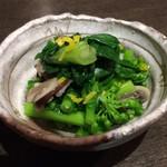 和酒和食 恵比寿 黒帯 - 菜の花のお通し