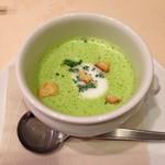 フレンチ レストラン 九段プレジール - スープ