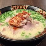 64959876 - ダブル肉八味豚骨ラーメン