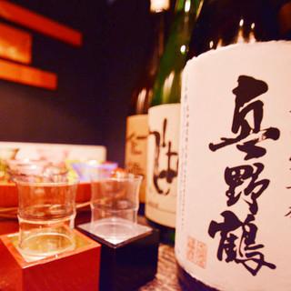 新潟の酒蔵から仕入れる地酒各種