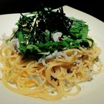BAR&Dining ITSUMURA - しらすと大葉の冷製パスタ