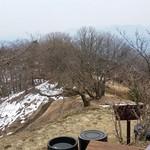 64965899 - 陣馬山付近5キロは山道に残雪あり。
