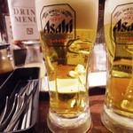 炭火焼肉酒家 牛角 - ビール