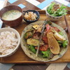 ルームカフェ - 料理写真:ランチ:チキンカツ ごまソース