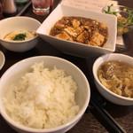 中国料理 桜花亭 - 桜花亭麻婆ランチセット