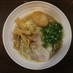 拉麺ビュッフェBUTA - トッピング搭載完了(真上から)