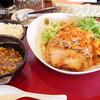 拉麺専門店 麺や - 料理写真:2017年4月 桜えびつけ麺大盛り(900円)