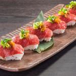 ■肉寿司~桜肉~
