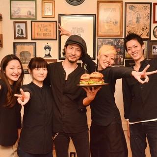 ◆親しみのある接客と美味しいハンバーガーをお楽しみください♪