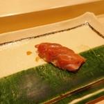 寿司割烹 魚紋 - 本鮪トロ