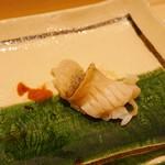 寿司割烹 魚紋 - つぶ貝