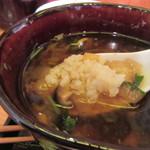 料理人 江川 - ご飯を投入