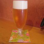 料理人 江川 - 生ビール
