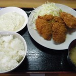 かつれつ食堂 - 魚フライ定食@630