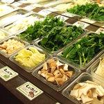 鍋ぞう - 野菜市場からお好きなだけお野菜をお取りいただけます。