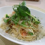 ビーチ食堂 Mr. BEACH - 本日のパスタ  ベーコンとゴロゴロ野菜のクリームスパ