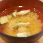 寿司 鮪家 - 味噌汁