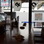 寿司 鮪家 - カウンター……実際はこんなに暗くありません。。(苦笑)