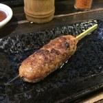 祖師谷大蔵の串屋横丁 - 豚つくね¥150