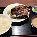 玉菊 - マグロカマ焼き定食